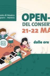 Open Day 21 e 22 maggio 2021 – Conservatorio Mantova